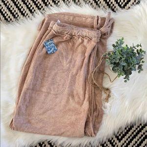 NWT Fashion trendy Free people make it maxi pants